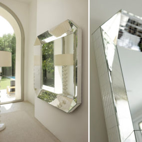 Modern Mirrored Furniture by Porada