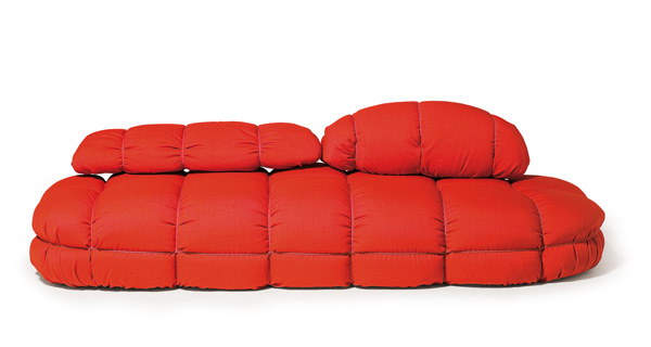 Modern Soft Sofa Polyurethane Red Skitsch 2 Modern Soft Polyurethane Red  Sofa By Skitsch