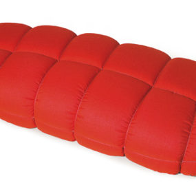 Modern Soft Polyurethane Red Sofa by Skitsch