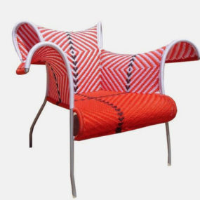 Outdoor Armchair Ibiscus and Sofa Meridienne by Moroso