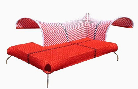moroso sofa meridienne 1 Outdoor Armchair Ibiscus and Sofa Meridienne by Moroso