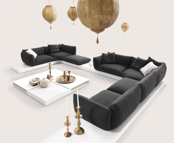 Oriental Style Sofas Jalis Cor 2 Oriental Style Soft Sofa Jalis By COR