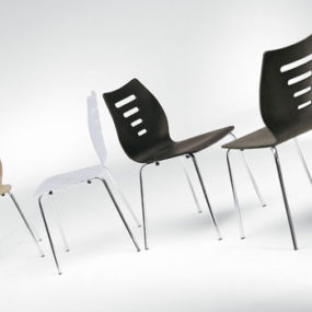 Modern Breakfast Table Chairs by Ozzio