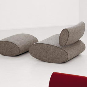 Ultra Modern Sofa and Chair from Paola Lenti