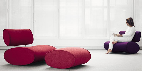 paola lenti ultra modern chair dondolo Ultra Modern Sofa and Chair from Paola Lenti