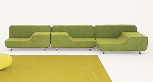 paola lenti ultra modern sofa all Ultra Modern Sofa and Chair from Paola Lenti