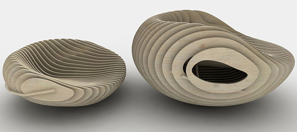 samarreda recycled wood chairs 2 Recycled Wood Chairs from Particleboard by Samarreda