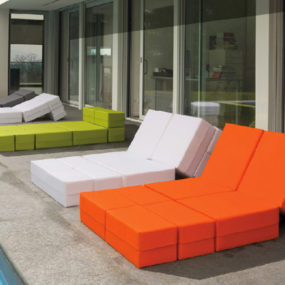 Adaptable Outdoor Furniture Kuboletto by Milano Bedding