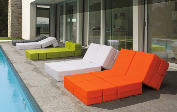universal outdoor furniture milano bedding kuboletto 1 Adaptable Outdoor Furniture Kuboletto by Milano Bedding