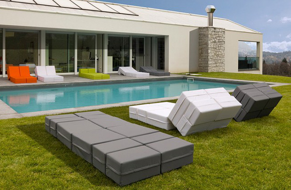 universal outdoor furniture milano bedding kuboletto 2 Adaptable Outdoor Furniture Kuboletto by Milano Bedding