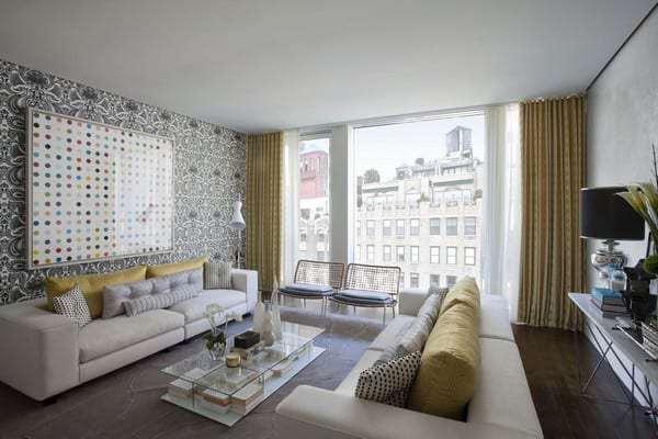 Unique Wallpaper Ideas - Apartment in New York