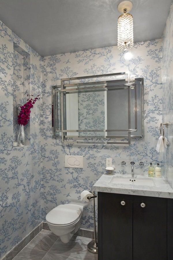 Unique Wallpaper Ideas - Apartment in New York