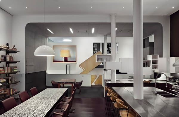 unusual creative minimalist loft nyc 3