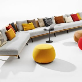 Versatile Modular Sofa System: Zinta from Arper