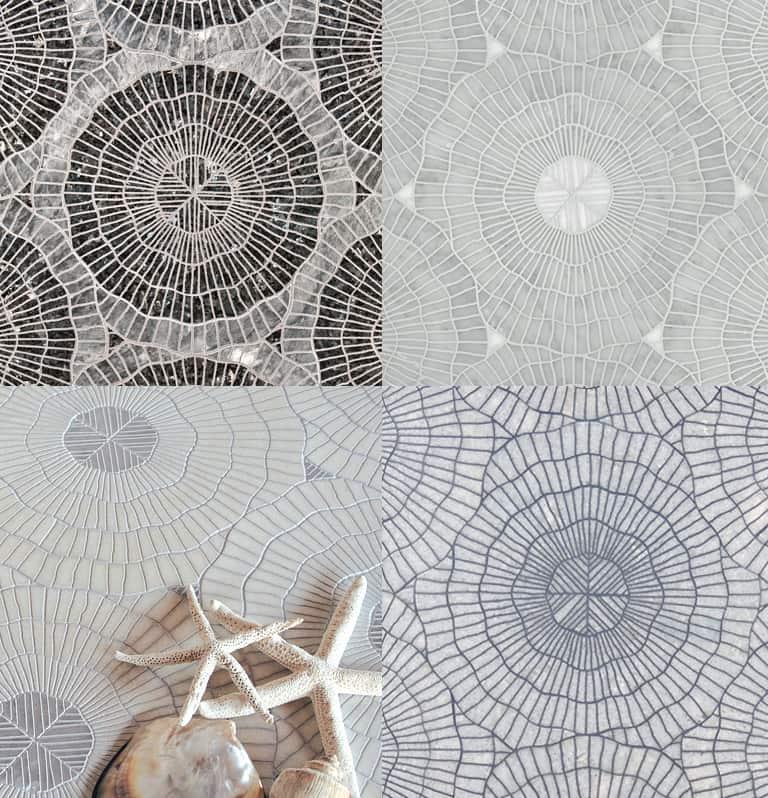 Water Jet Mosaics By Ann Sacks Scribe Aquaria