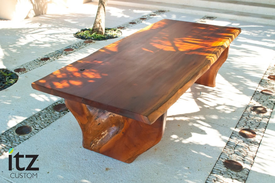 Exceptionnel View In Gallery Zapote Table By Itz Mayanwoodfurniture Made From Salvaged