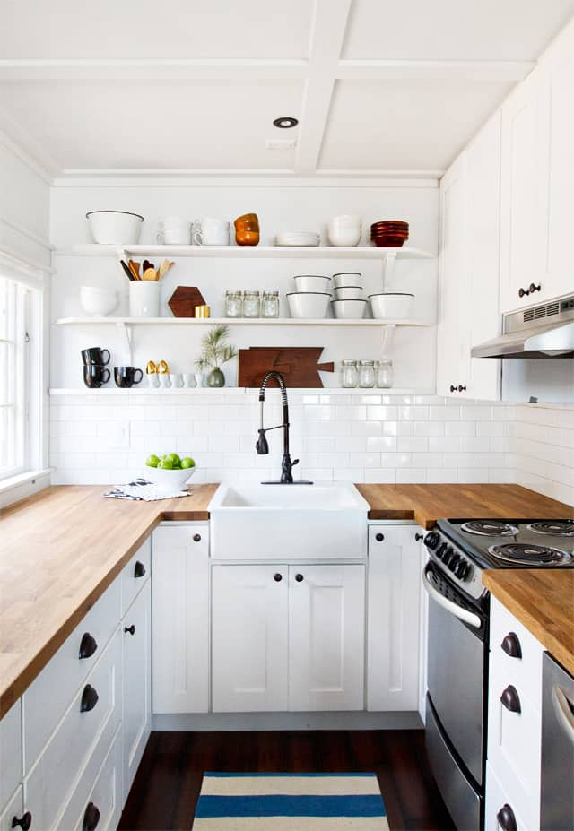View In Gallery Small White Kitchen Remodel